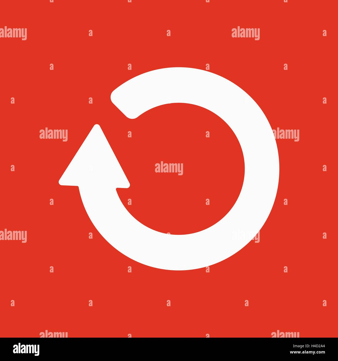 The refresh icon loading symbol flat stock vector art loading symbol flat biocorpaavc Image collections