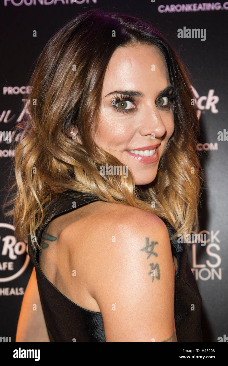 London, UK. 14 October 2016. Melanie C attends the annual Pinktober Stock Photo, Royalty Free ...