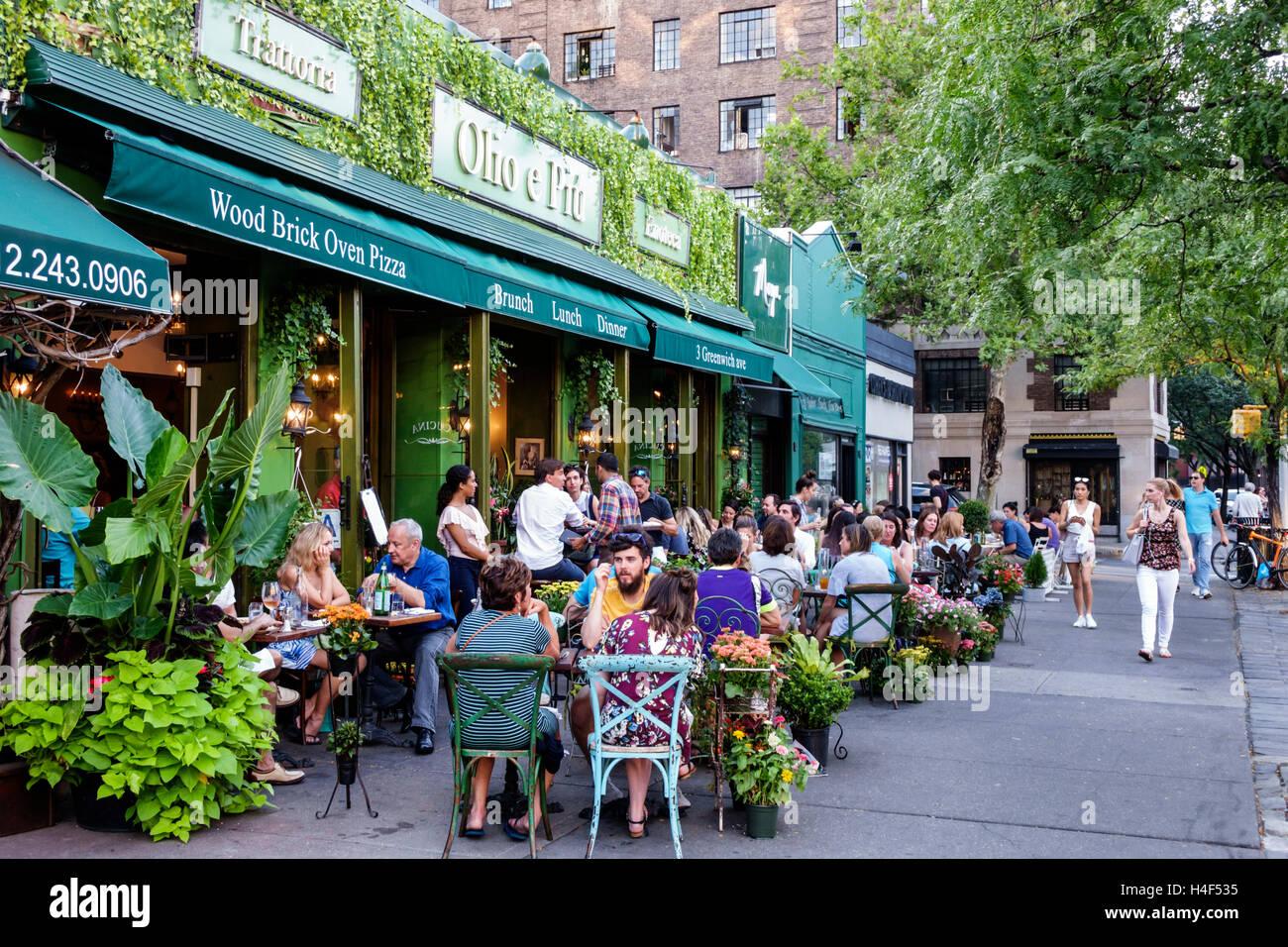 Restaurants Greenwich Village New York