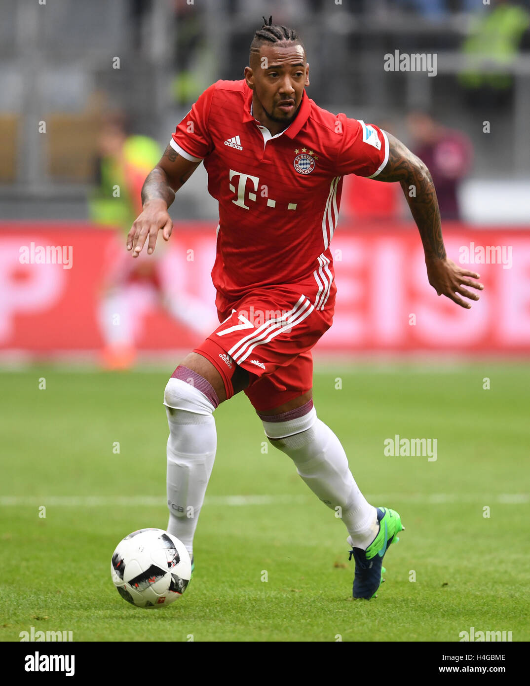 Munich s Jerome Boateng in action during the match between