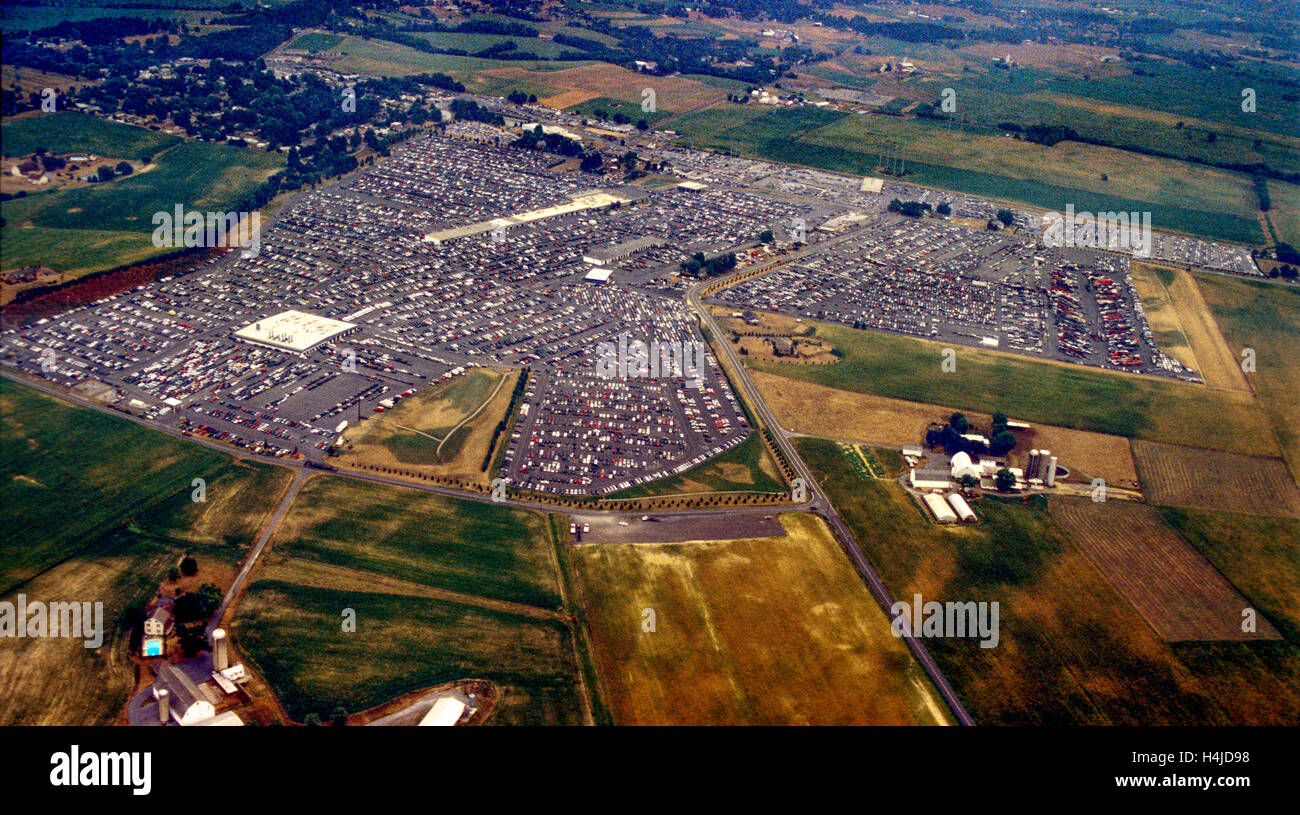 Manheim Car Auction: Aerial Views Of Central Pennsylvania Manheim Auto Auction
