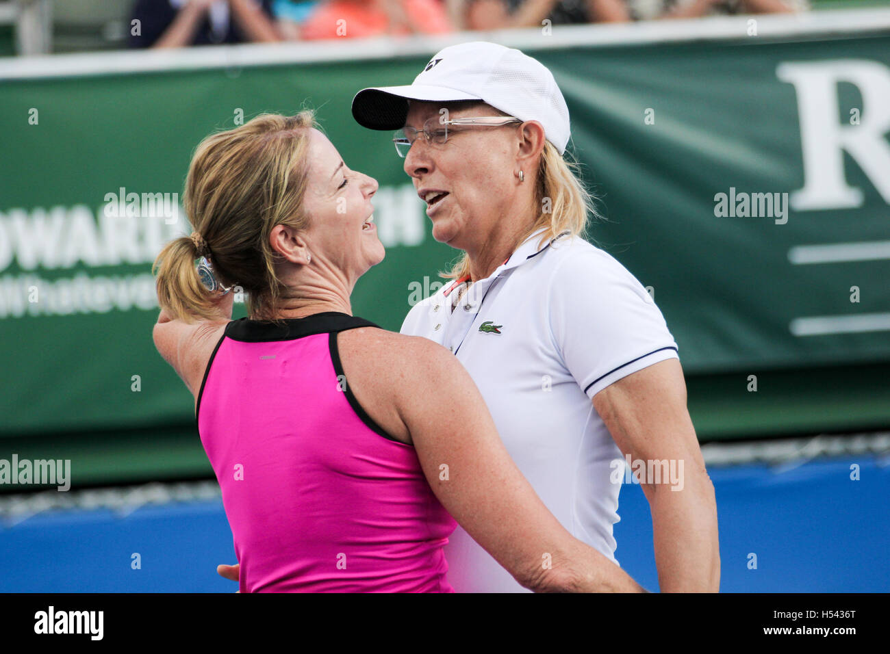 Chris Evert and Martina Navratilova were fierce rivals who have