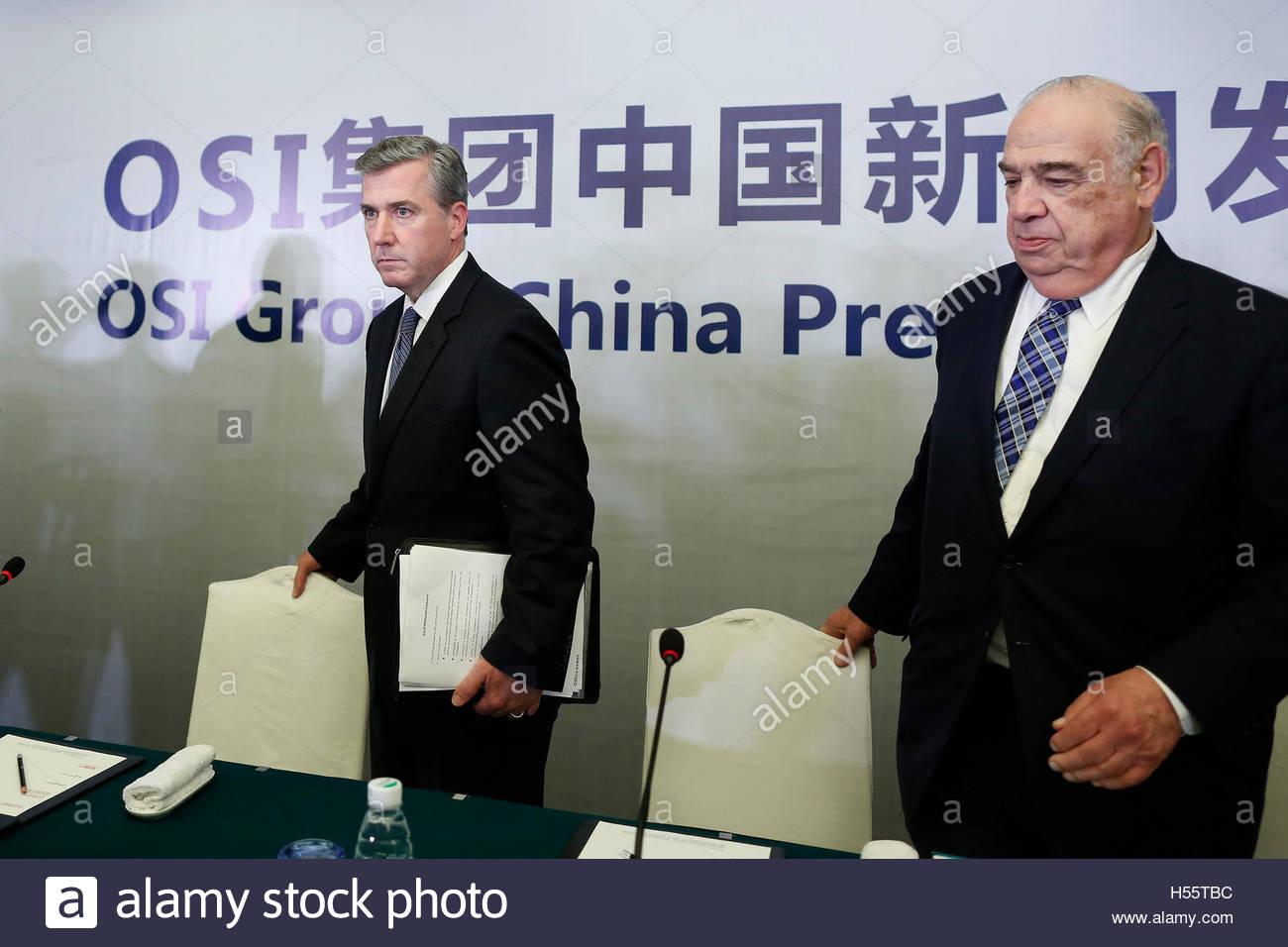 osi stock photos osi stock images alamy osi group chairman and ceo sheldon lavin r and osi group president and chief
