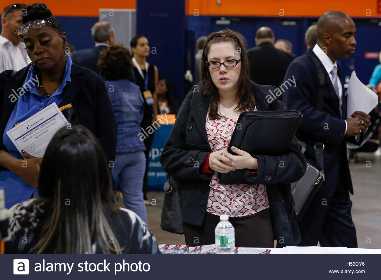 people speak job recruiters at the nassau county mega job people speak job recruiters at the nassau county mega job fair at nassau veterans memorial coliseum in uniondale new york 7 2014