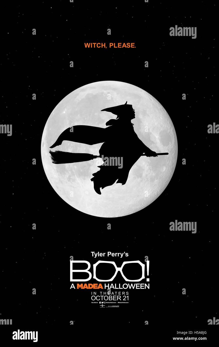 RELEASE DATE: October 21, 2016 TITLE: Boo! A Madea Halloween ...