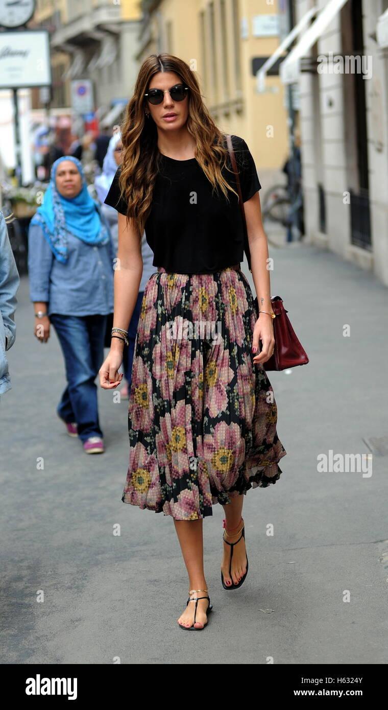 milan fashion week spring summer 2017   celebrity