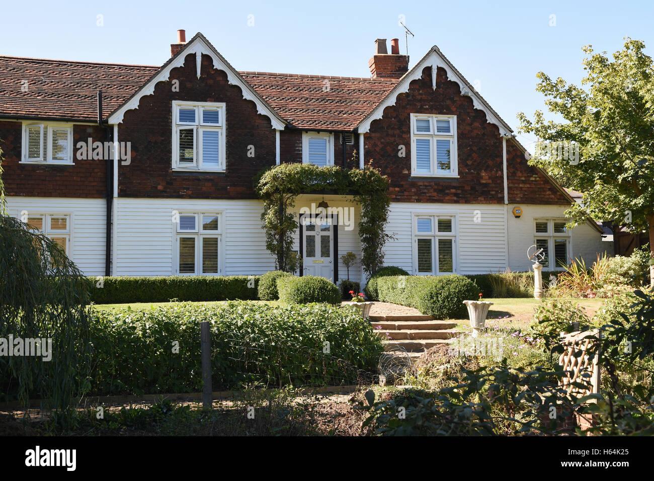 Modern HousesShorehamSevenoaksKent UK Stock Photo Royalty Free