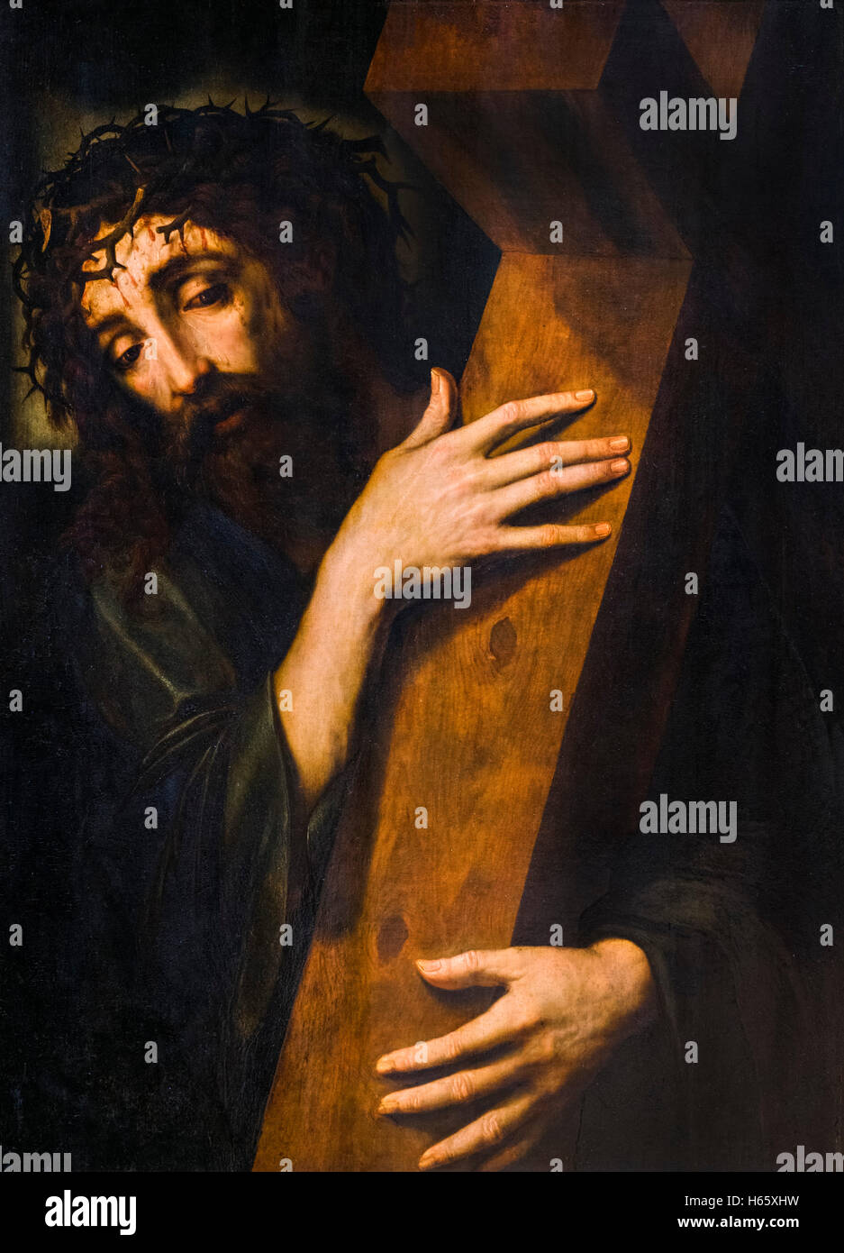 jesus christ carrying the cross by unknown flemish artist early