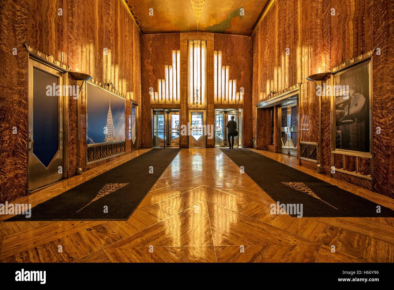 Chrysler Building Office Interior