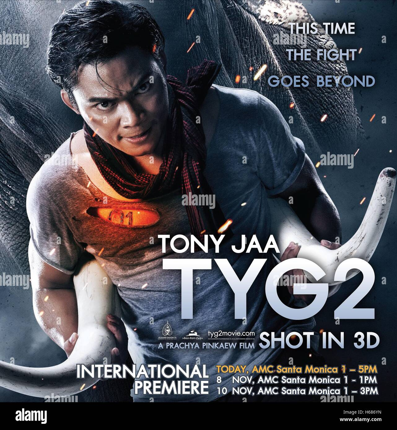 Jaa Awesome tony jaa poster warrior king 2; the protector 2 ; tom yum goong 2