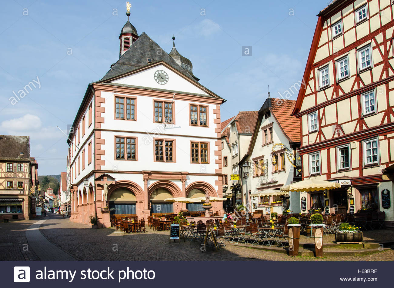 Lohr am Main Germany Lower Franconia proximity of Frankfurt am Main Stock Photo, Royalty Free