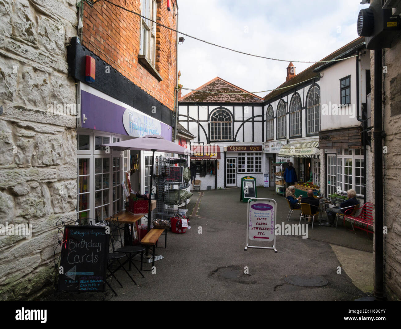 View Black Lion Mews High Street Cardigan Ceredigion Mid Wales UK ...