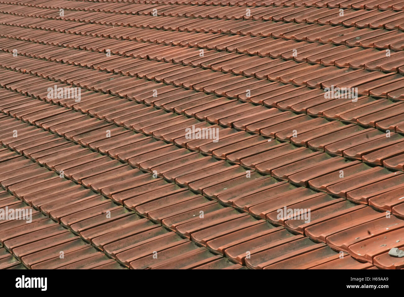Red Ceramic Roof Tiles. Roof Tiles.