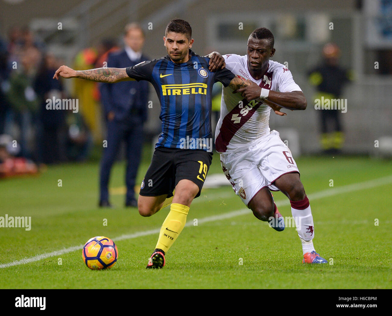 Milan Italy 26th Oct 2016 Ever Banega of FC Internazionale