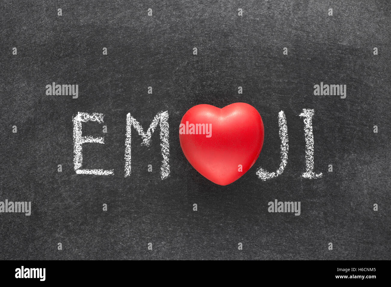 Emoji word handwritten on chalkboard with heart symbol instead of emoji word handwritten on chalkboard with heart symbol instead of o biocorpaavc