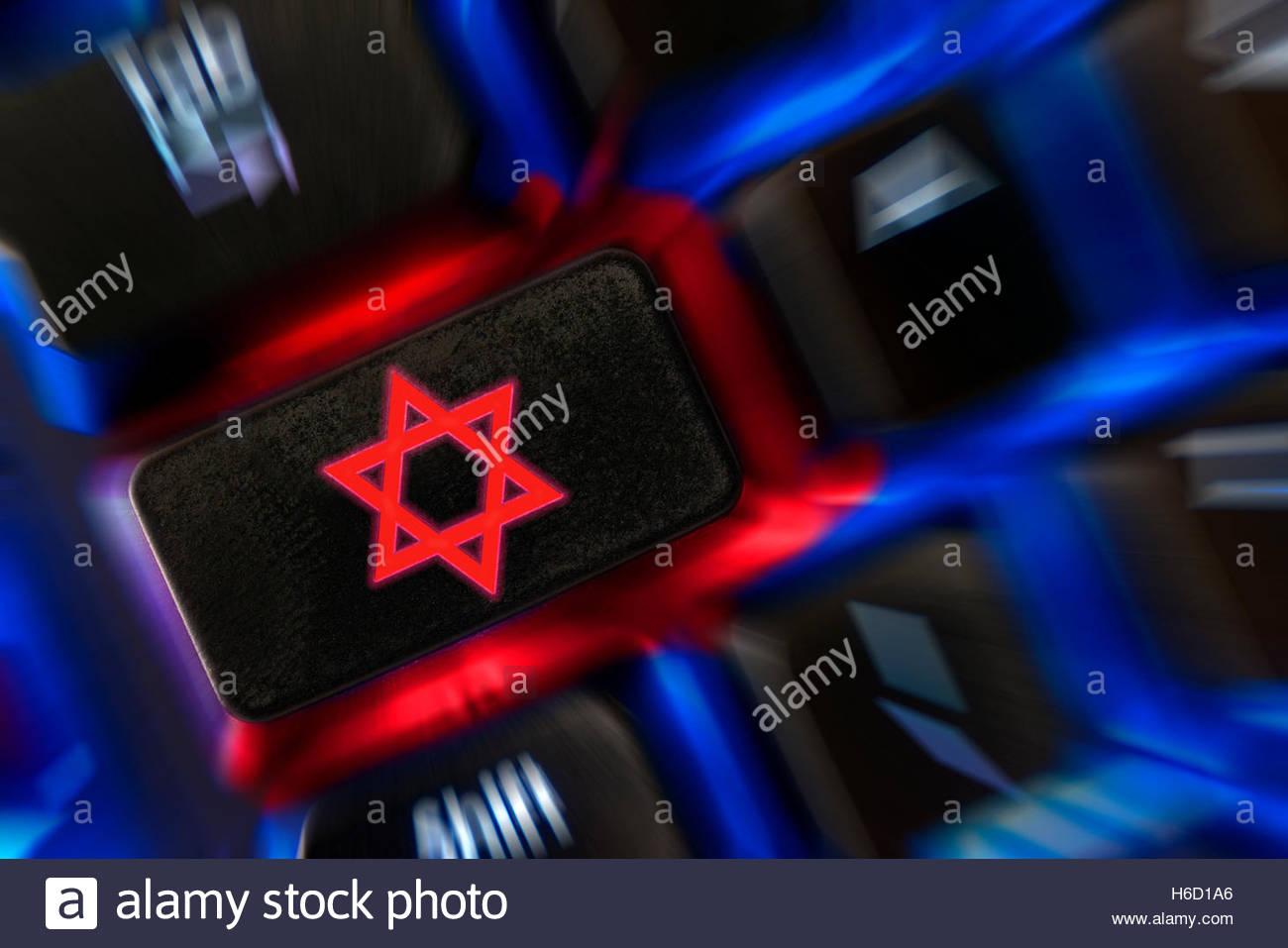 Star of david symbol shown on a backlit keyboard dorset england star of david symbol shown on a backlit keyboard dorset england uk biocorpaavc