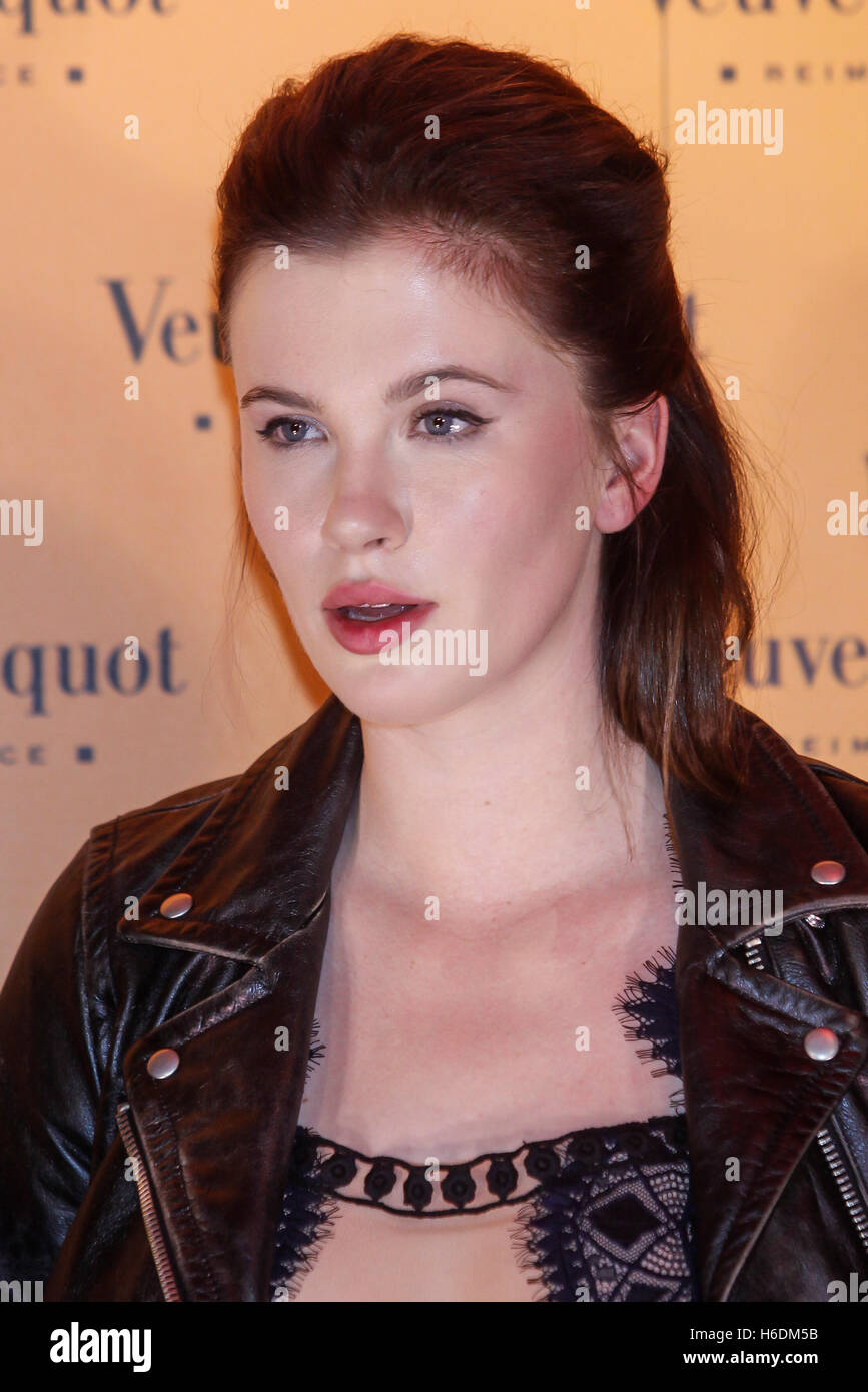 Madrid, Spain. 27th Oct, 2016. Ireland Baldwin attends the Veuve ...