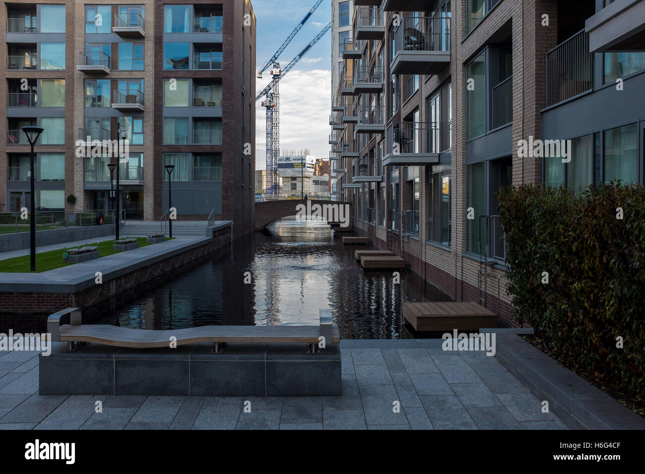 Apartments at the Chelsea Creek development in Chelsea London ...