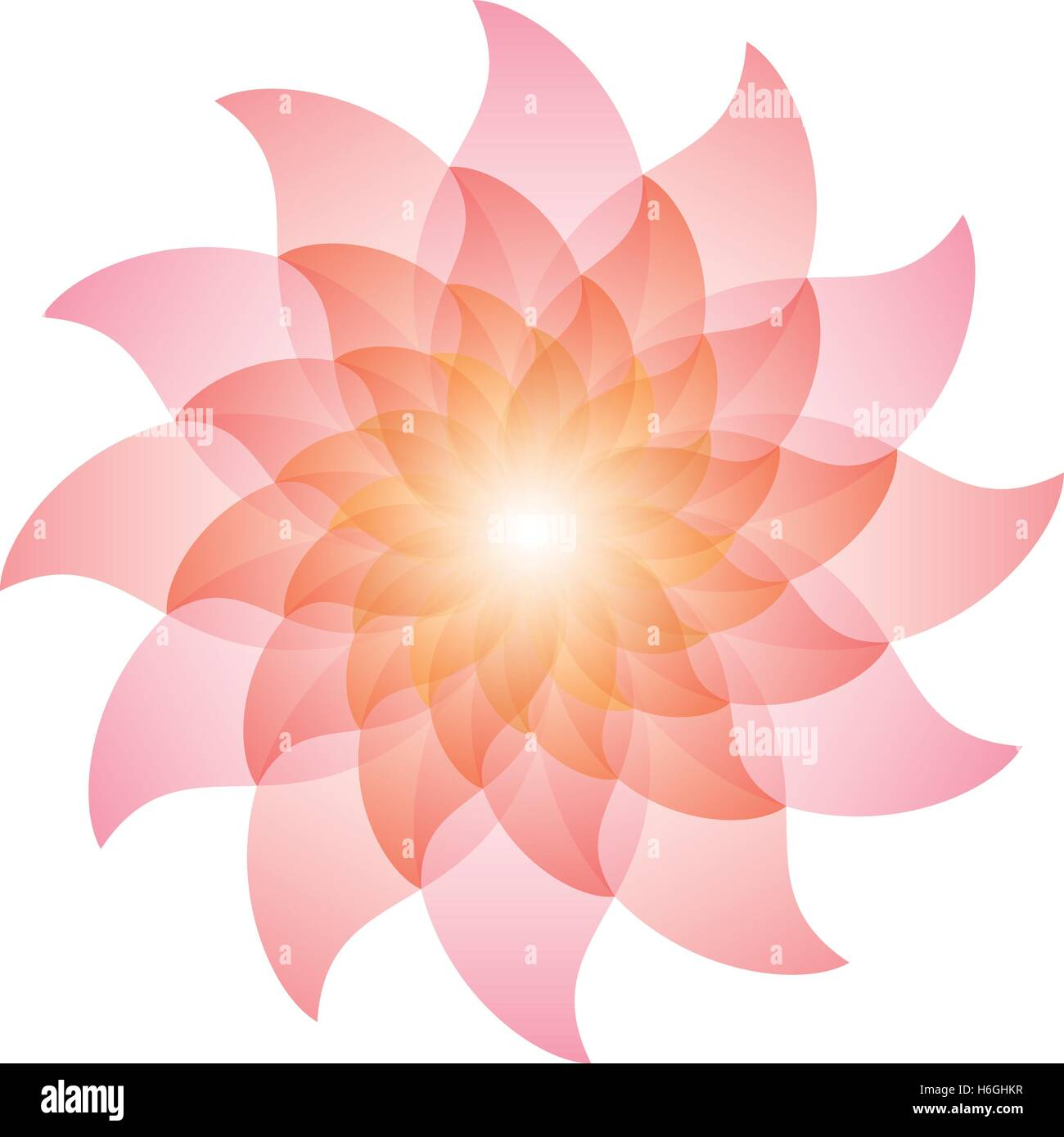 Beautiful pink lotus flower icon vector eps10 stock vector art beautiful pink lotus flower icon vector eps10 dhlflorist Images