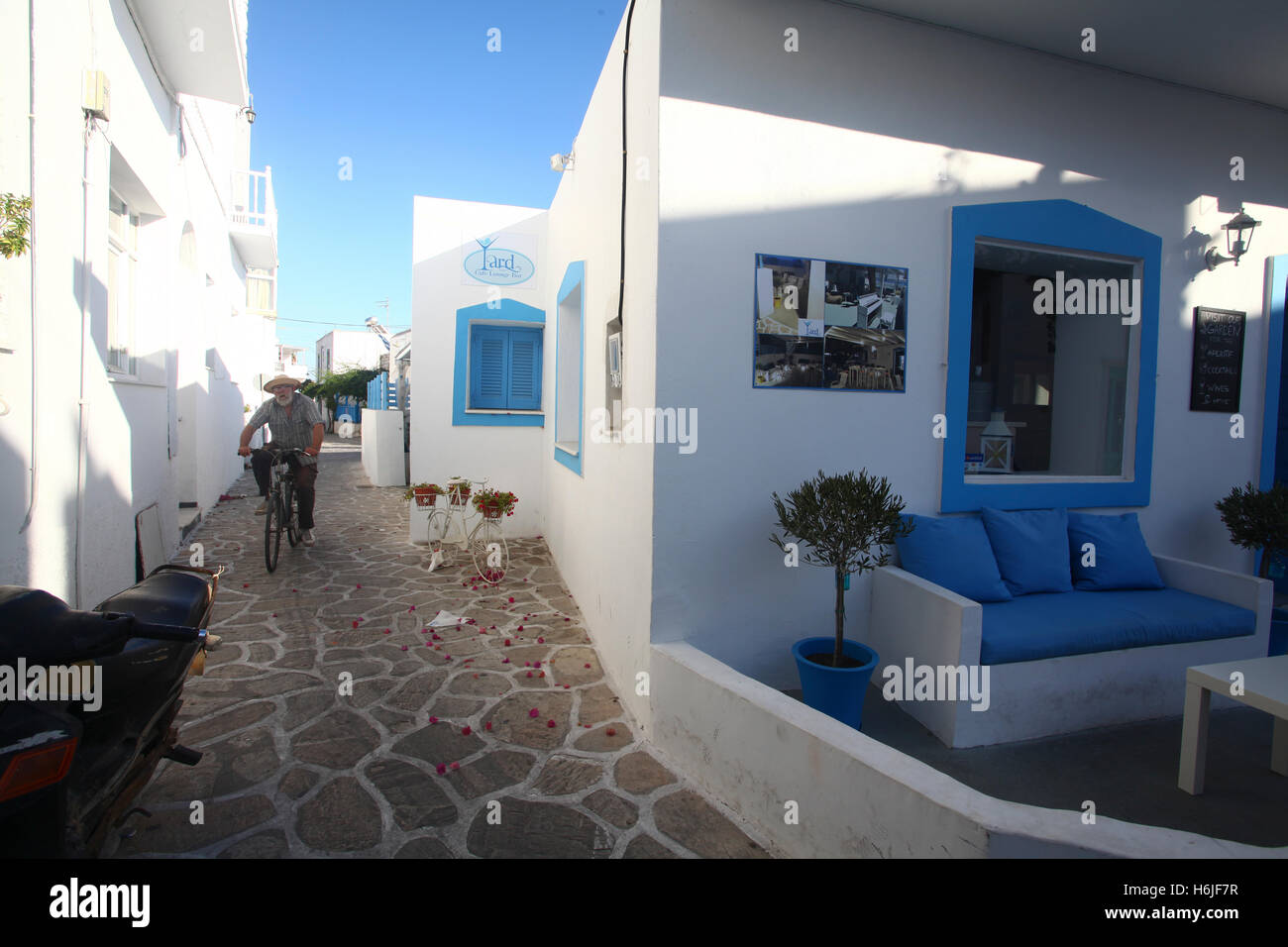 Traditional Greek Houses traditional greek houses on antiparos, a small greek island in the