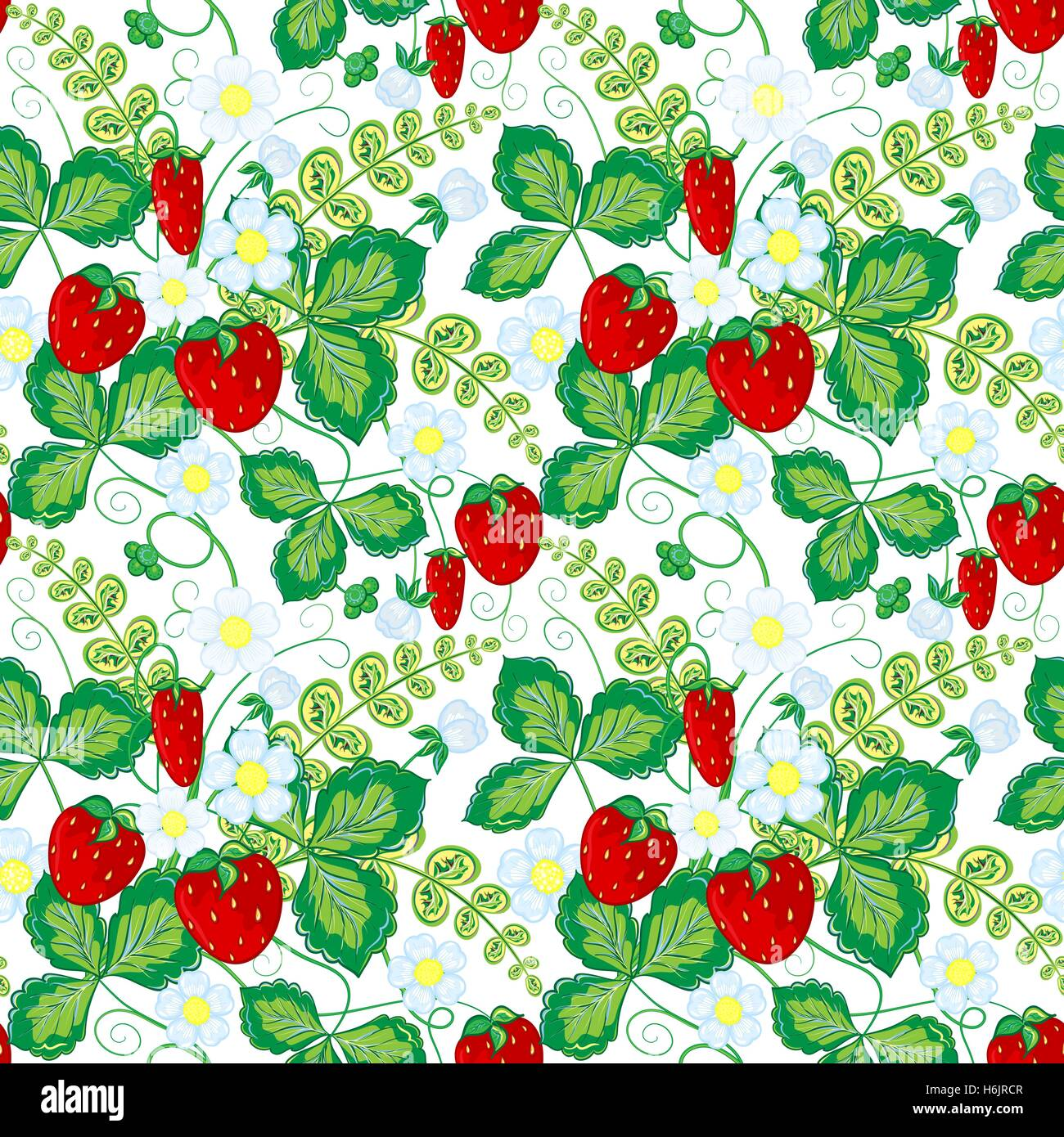 Wallpapers pattern fills web page backgrounds surface textures - Seamless Pattern With Strawberries Perfect For Wallpapers Pattern Fills Web Page Backgrounds Surface Textures Textile