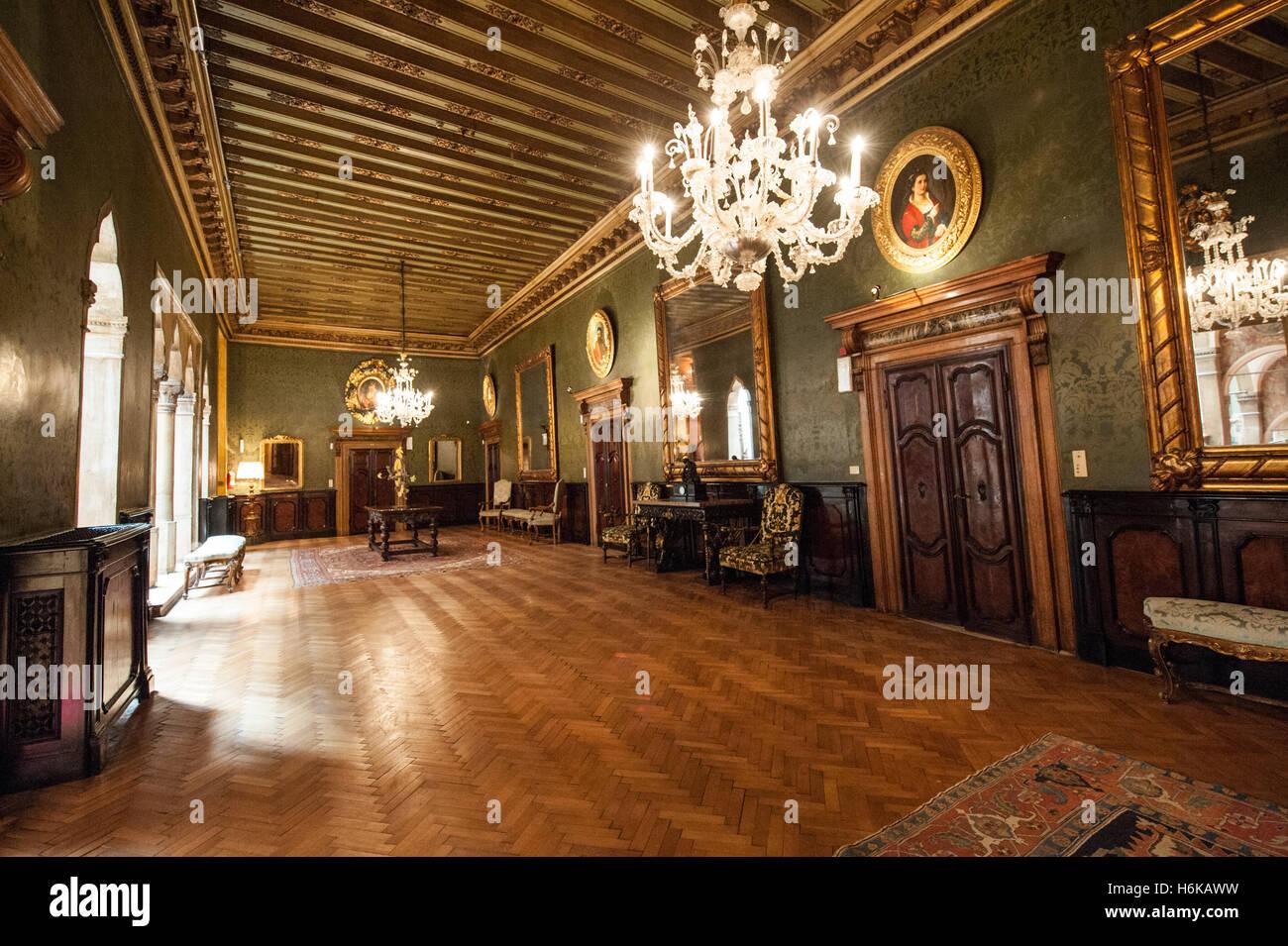 Interior Of Hotel Danieli Venice Italy