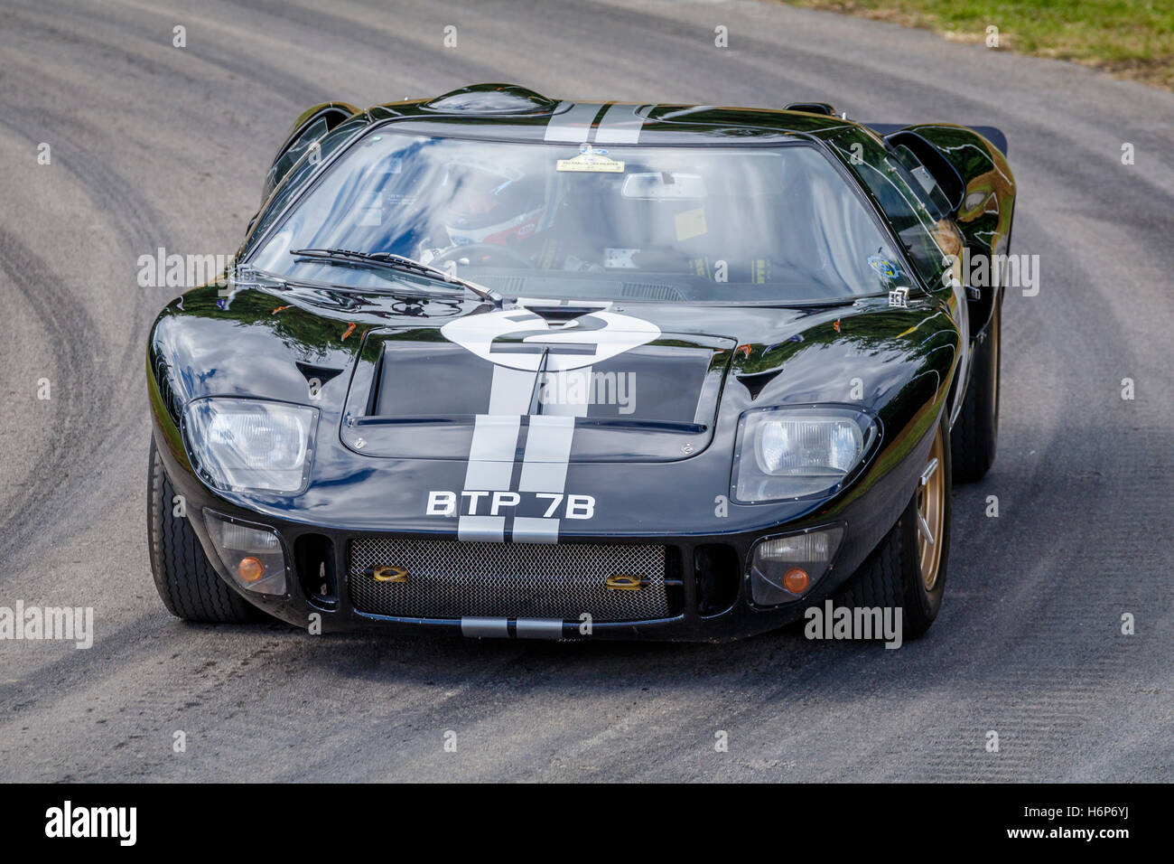1966 ford gt40 mkii le mans winning car at the 2016 goodwood festival of speed sussex uk