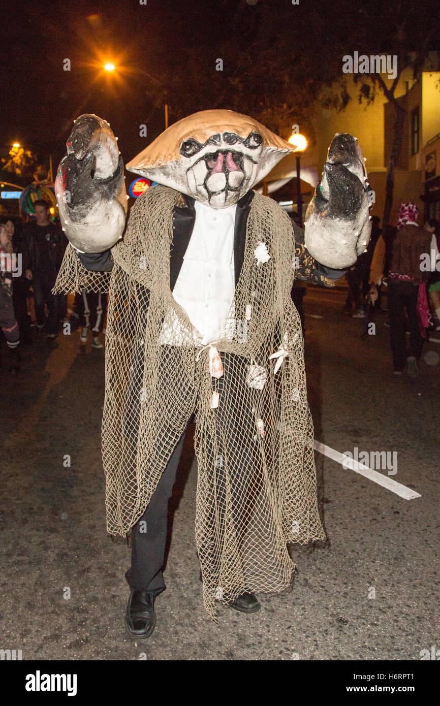 West Hollywood, California, USA. 31st October 2016. Halloween ...