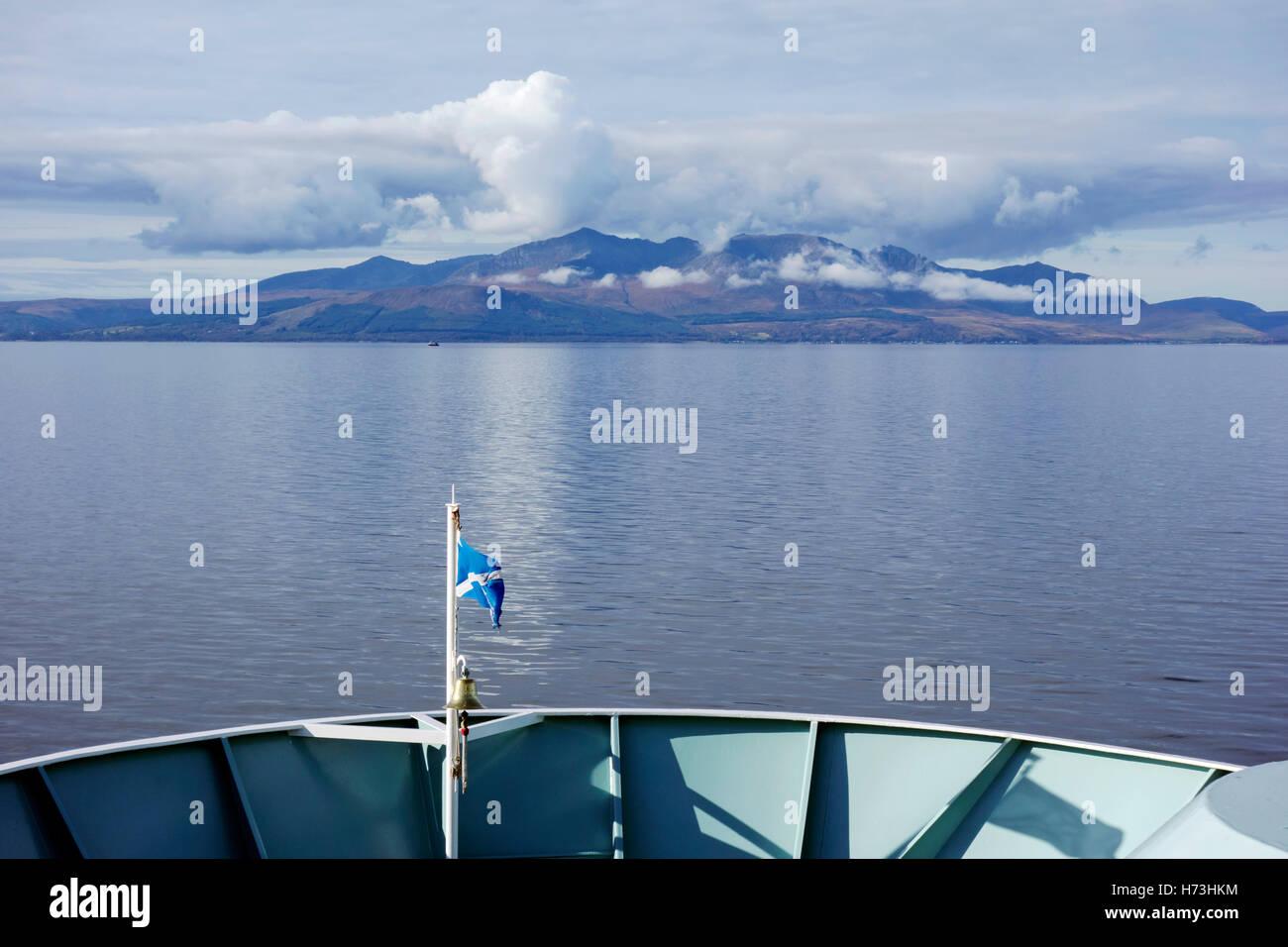 Ferry To Arran Island