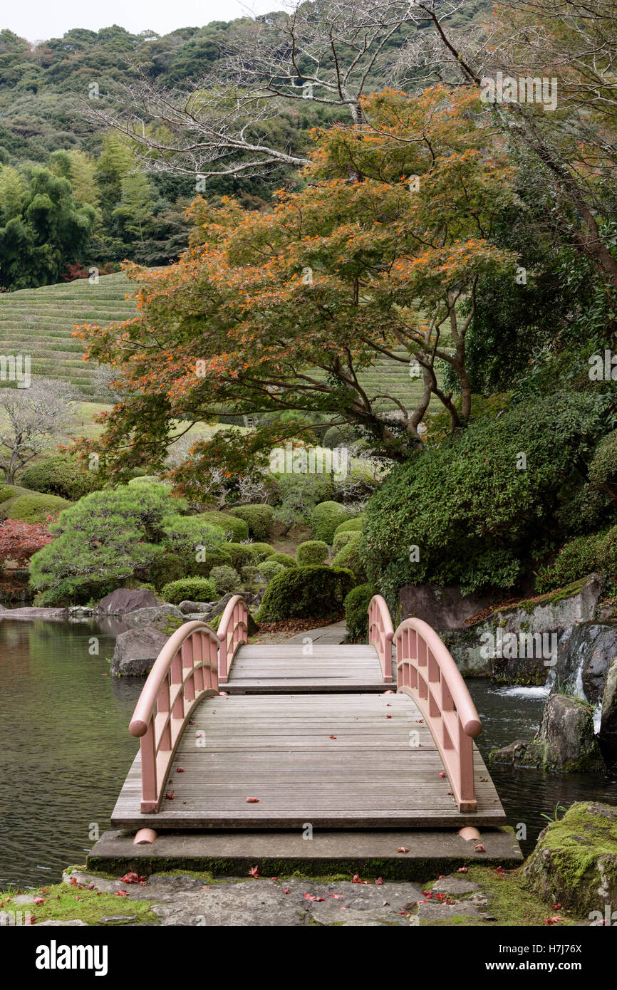 Japanese Gardenkeishuen Japanese Garden Sagajapan Stock Photo