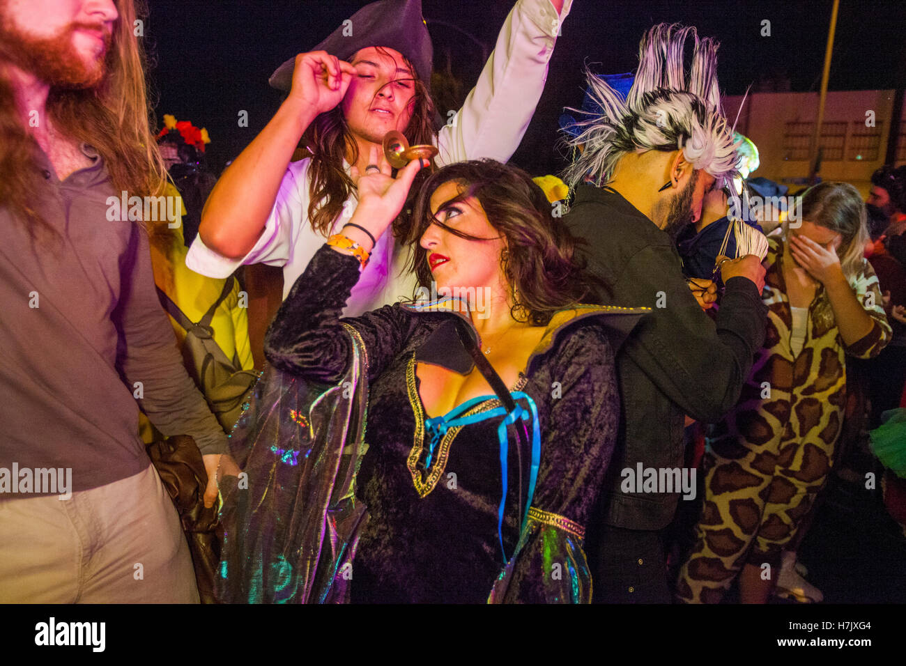 West Hollywood Halloween Carnaval, Los Angeles, California, USA ...