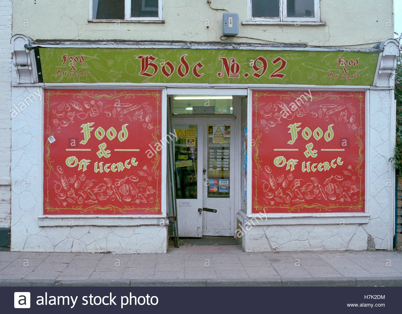 Bode no 92 European food store in Boston Lincs & Bode no 92 European food store in Boston Lincs Stock Photo ...