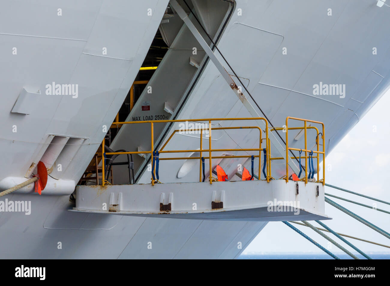 Hatch on white hull of cruise ship stock photo royalty free image hatch on white hull of cruise ship pooptronica