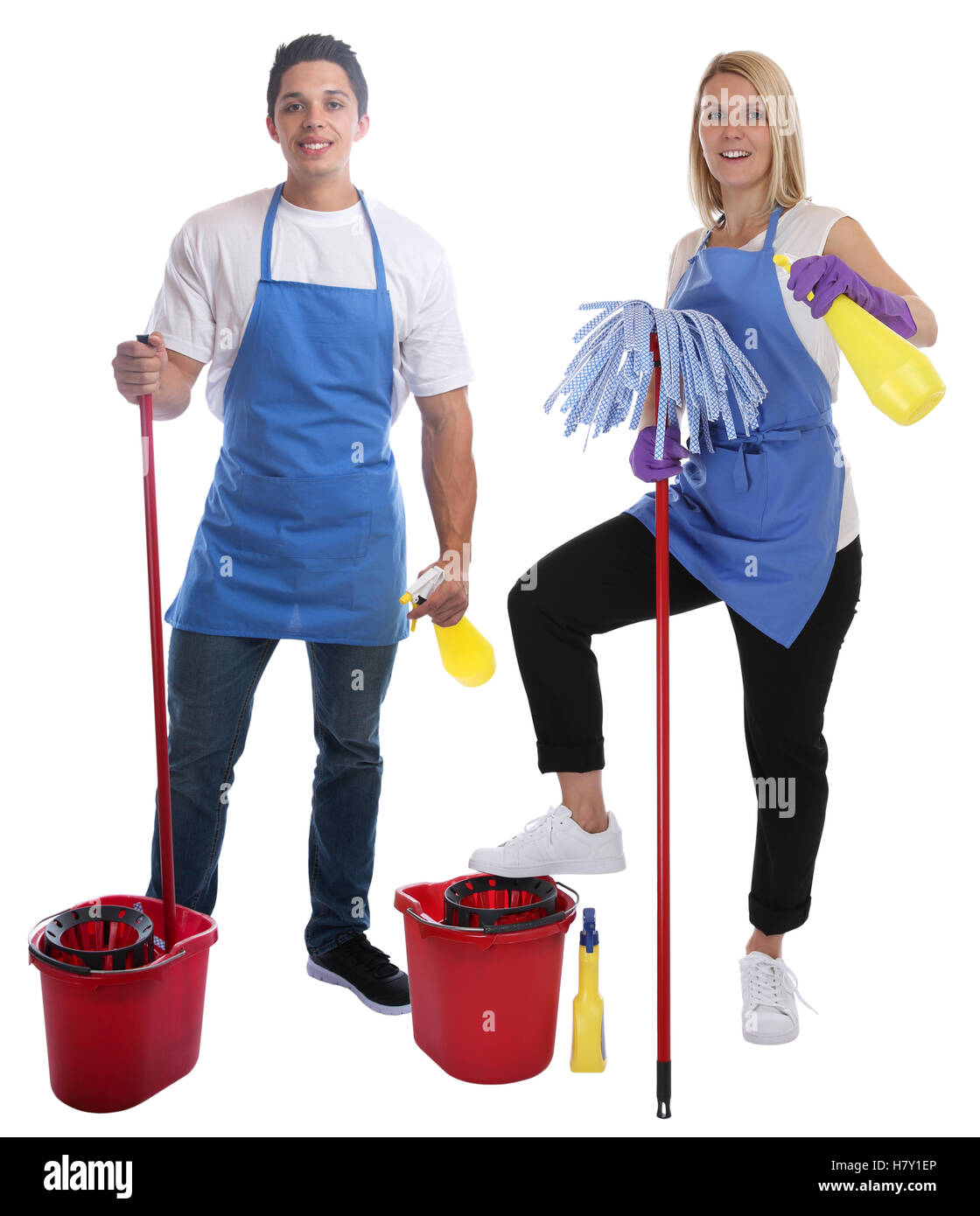 People Cleaning Services : Cleaning lady person service cleaner woman man job