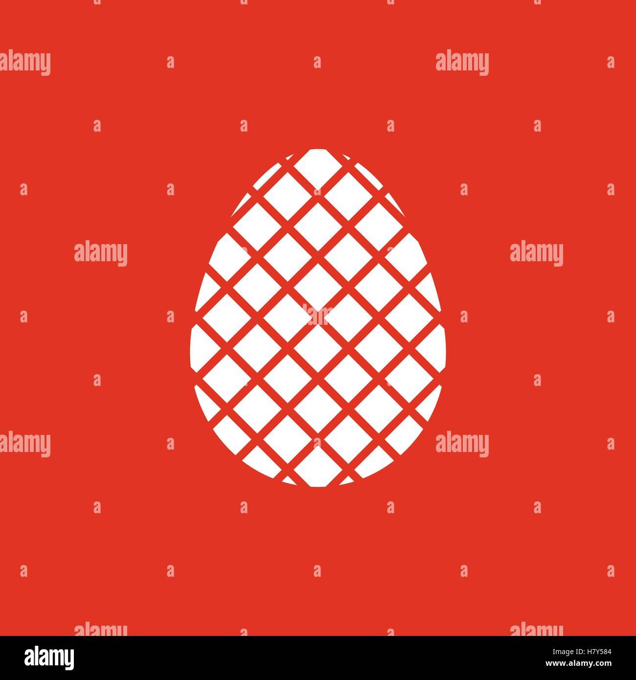 The egg icon easter egg symbol ui web logo sign flat design the egg icon easter egg symbol ui web logo sign flat design app stock vector buycottarizona