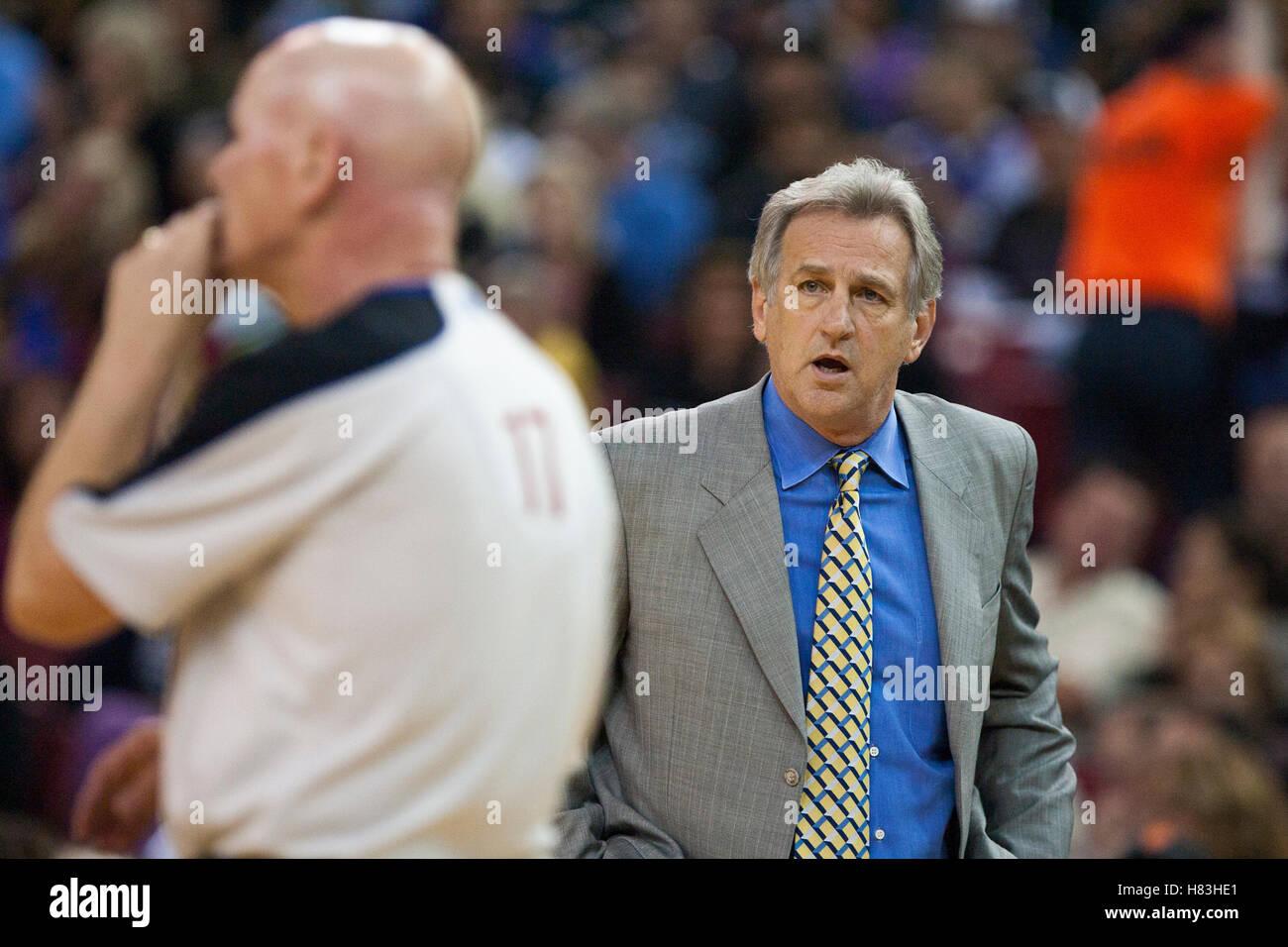 November 1 2010 Sacramento CA USA Sacramento Kings head coach