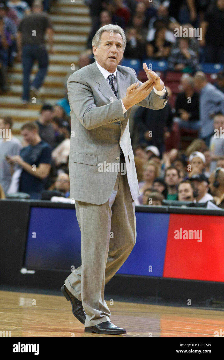 January 19 2011 Sacramento CA USA Sacramento Kings head coach