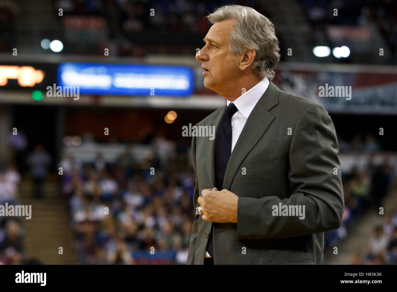 March 9 2011 Sacramento CA USA Sacramento Kings head coach