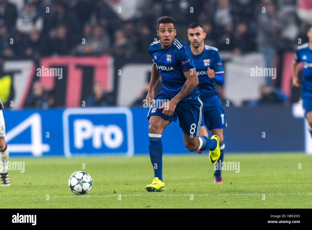 Corentin Tolisso Lyon NOVEMBER 2 2016 Football Soccer