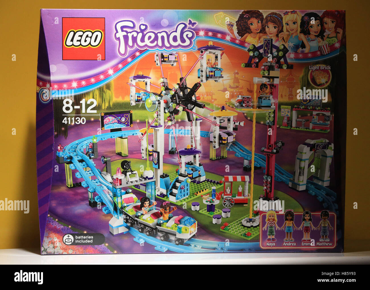 lego friends amusement park instructions