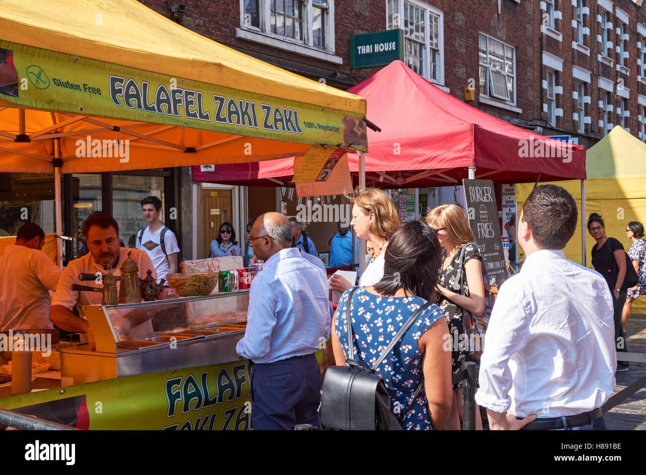 Strutton Ground Market Food