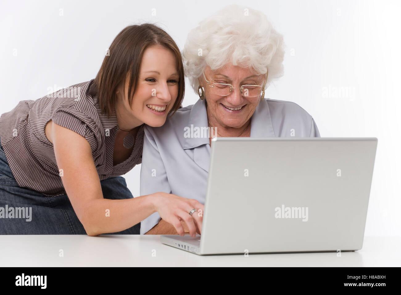 Free Older Woman Fun