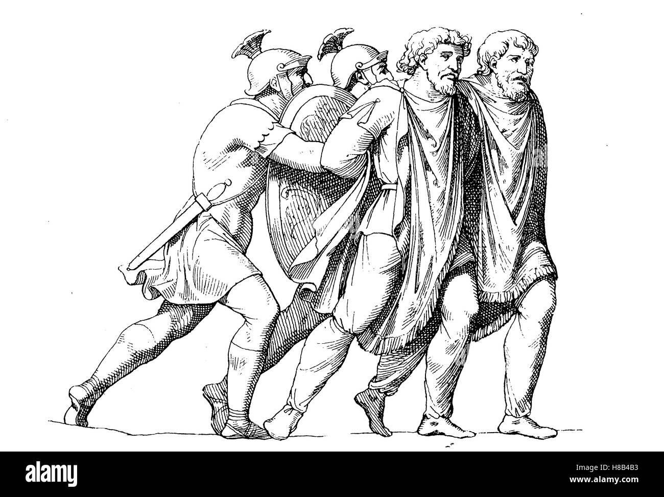 east germans as prisoners of roman soldiers 2 century history
