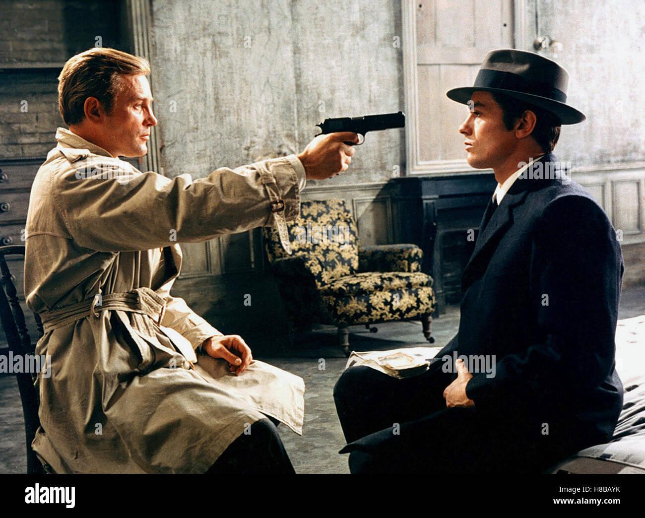 Der eiskalte Engel, (LE SAMOURAI) F-IT 1967, Regie: Jean ...  Der eiskalte En...