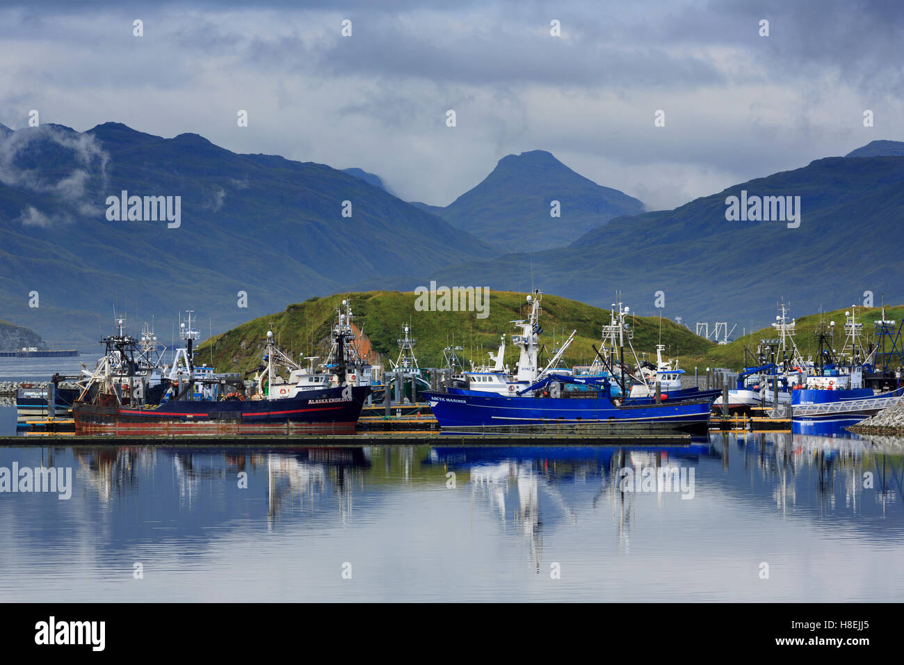 Grand aleutian hotel in dutch harbor - Carl E Moses Boat Harbor Dutch Harbor Amaknak Island Aleutian Islands