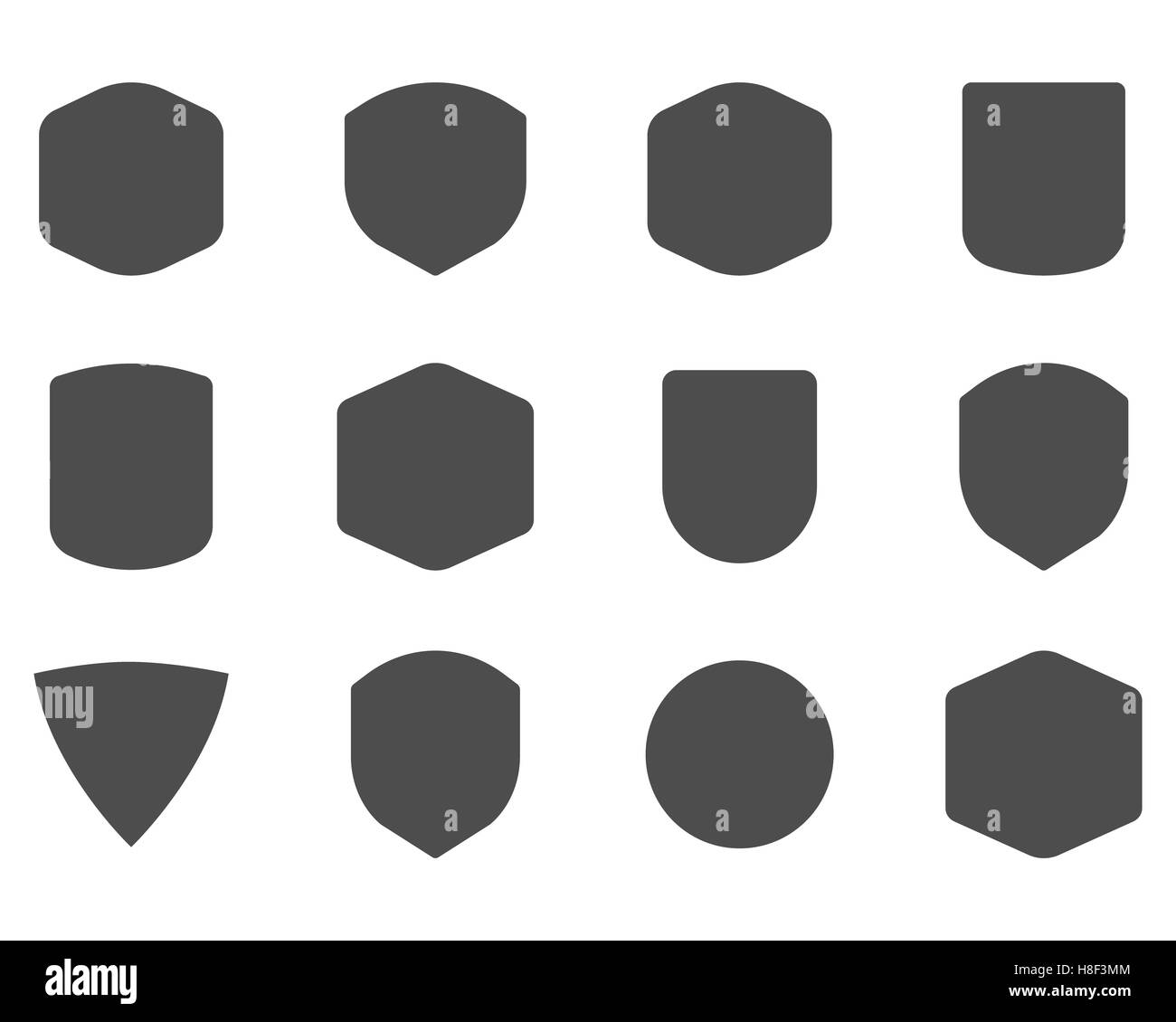 Set of vintage frames shapes and forms for logo labels set of vintage frames shapes and forms for logo labels insignias use jeuxipadfo Images