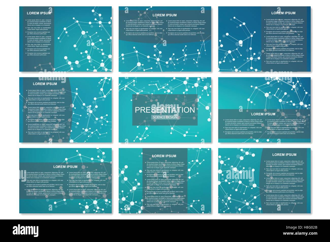 science presentation templates