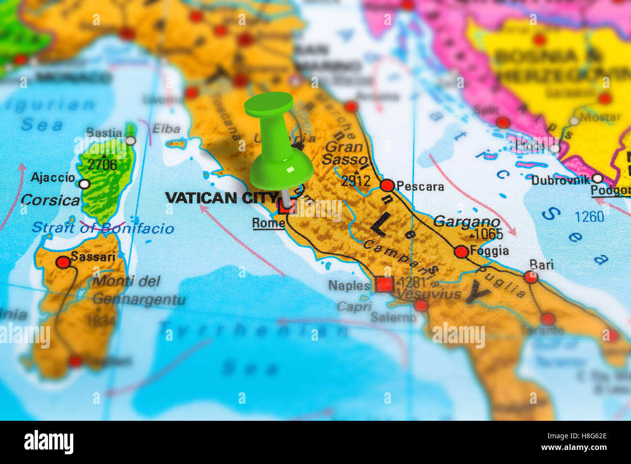 Rome Italy map Stock Photo Royalty Free Image 125745830 Alamy