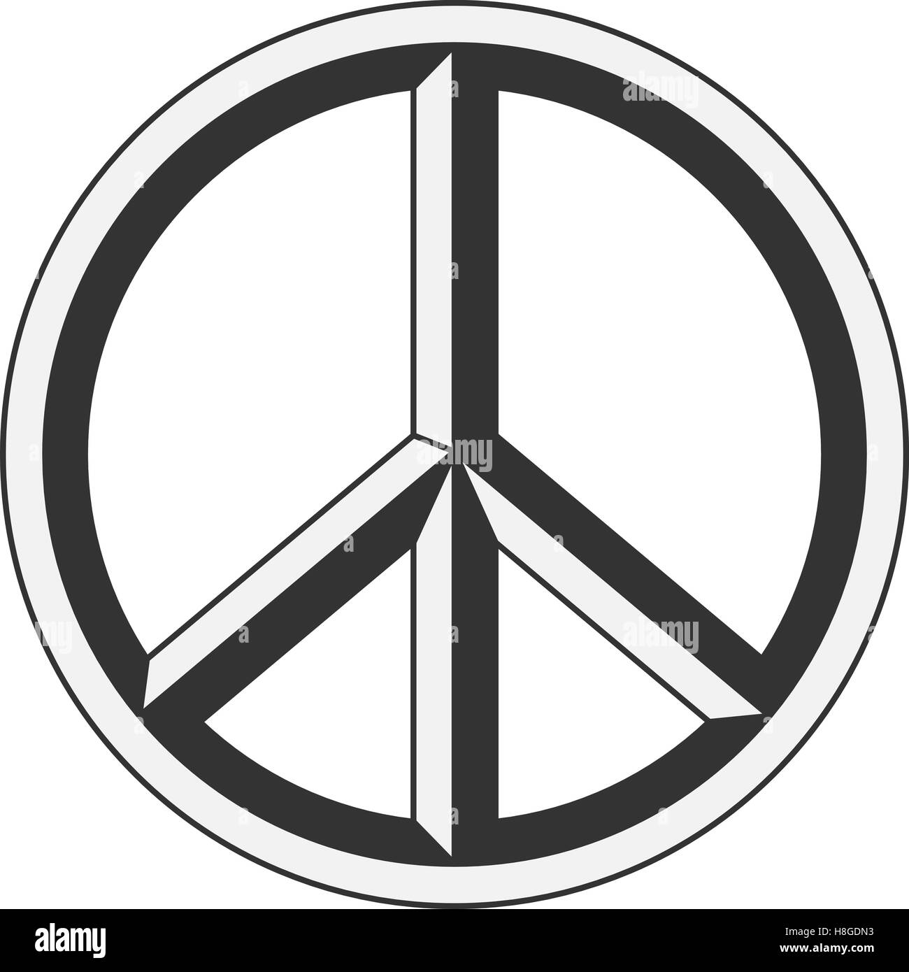Peace sign hippie symbol of peace stock vector art illustration peace sign hippie symbol of peace buycottarizona
