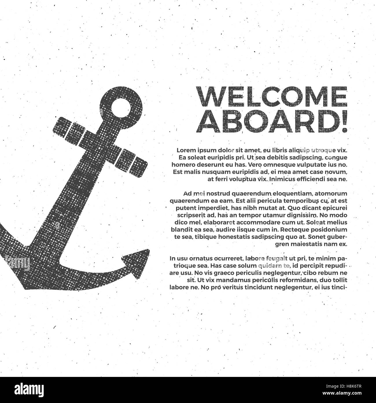 Nautical banner design sailor vector poster template anchor nautical banner design sailor vector poster template anchor label and print design with sailor pronofoot35fo Images
